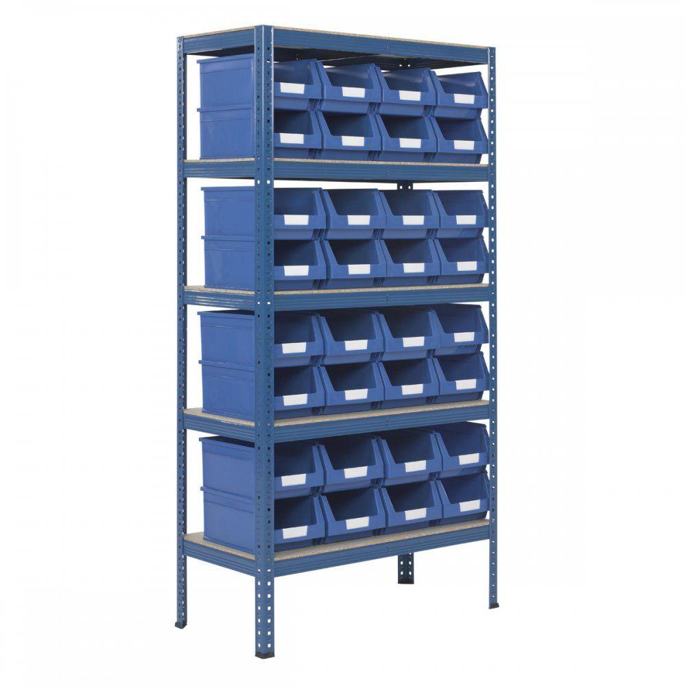 Garage 200kg 215w x 336d Parts Storage Bin Shelving ...